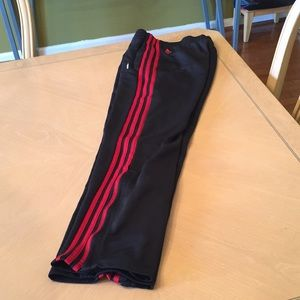 Adidas Climalite Pants with zippers